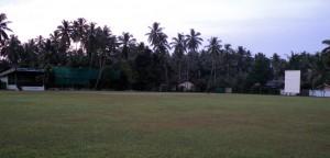 The Seenigama Oval, near Hikkaduwa